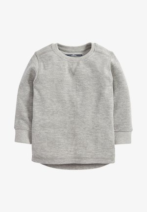 BLACK LONG SLEEVE TEXTURED T-SHIRT (3MTHS-7YRS) - Trui - grey