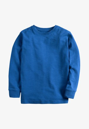 GREEN LONG SLEEVE COSY T-SHIRT (3-16YRS) - Pitkähihainen paita - blue
