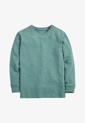GREEN LONG SLEEVE COSY T-SHIRT (3-16YRS) - Longsleeve - green