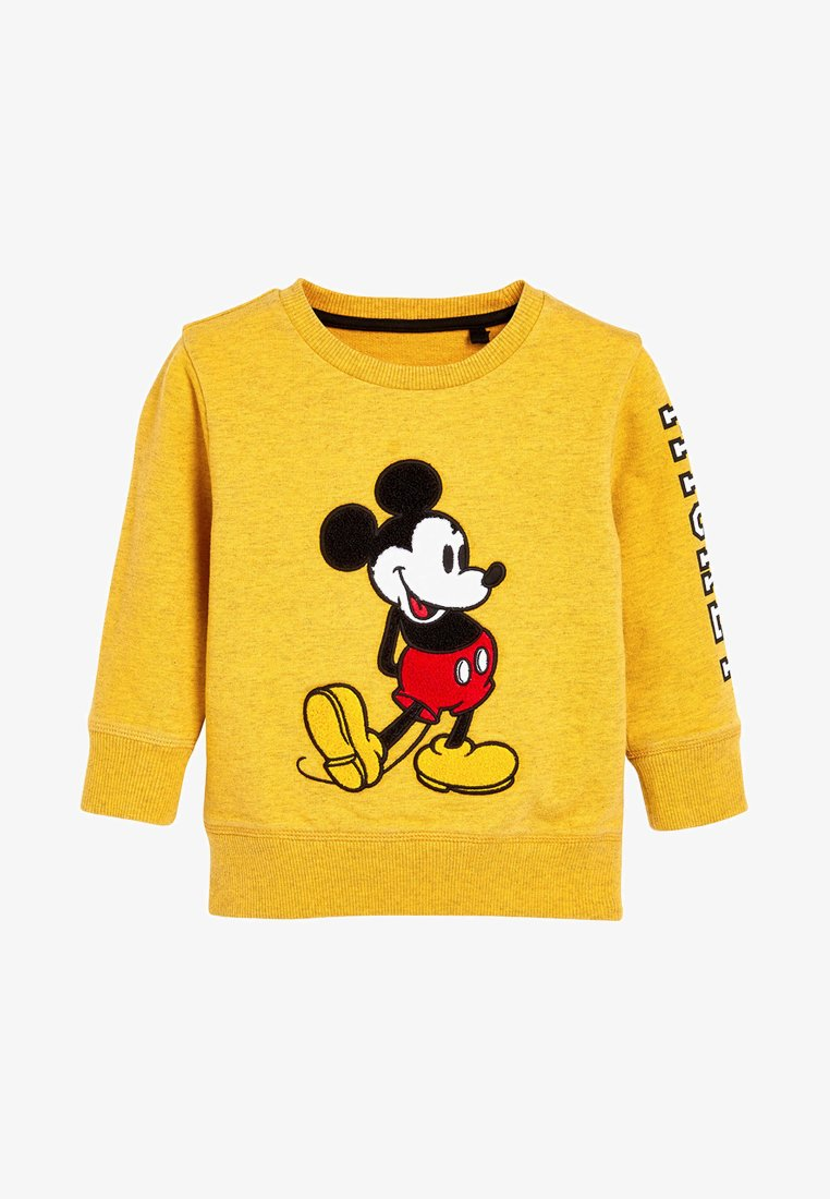 Next - MICKEY MOUSE - Sweatshirt - yellow