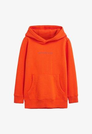 Sweat à capuche - orange
