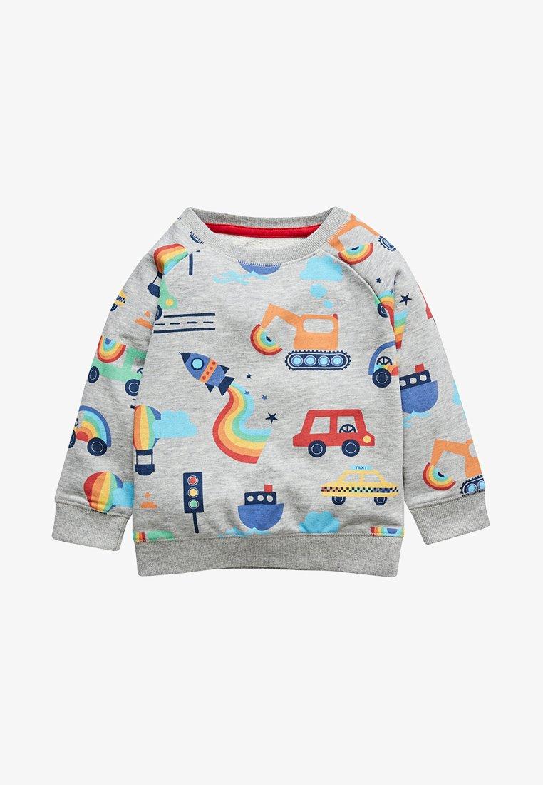 Next - RAINBOW - Sweatshirt - grey