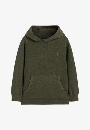 Bluza z kapturem - green