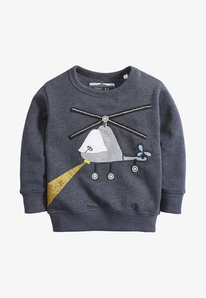 HELICOPTER - Sweater - blue