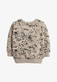 Next - STONE SPLAT PRINT CREW TOP (3MTHS-7YRS) - Sweater - beige - 1