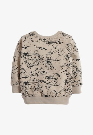 STONE SPLAT PRINT CREW TOP (3MTHS-7YRS) - Sweater - beige