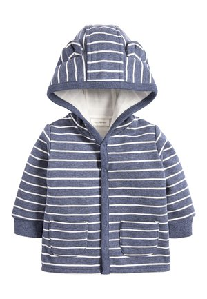 BLUE COSY POPPER LIGHTWEIGHT JACKET (0MTHS-3YRS) - Collegetakki - blue