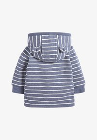 Next - BLUE COSY POPPER LIGHTWEIGHT JACKET (0MTHS-3YRS) - veste en sweat zippée - blue