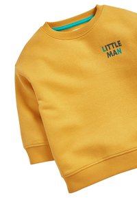 Next - YELLOW LITTLE MAN CREW NECK SWEATER (3MTHS-7YRS) - Sweater - yellow - 2