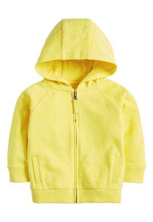 YELLOW LIGHTWEIGHT ZIP THROUGH HOODY (3MTHS-7YRS) - Hoodie met rits - yellow