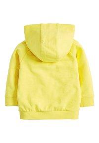 Next - LIGHTWEIGHT  - Zip-up hoodie - yellow - 1
