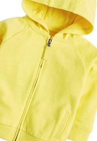 Next - LIGHTWEIGHT  - Zip-up hoodie - yellow - 2