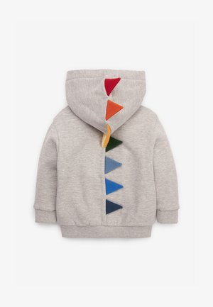 DINO SPIKE  - Zip-up hoodie - grey