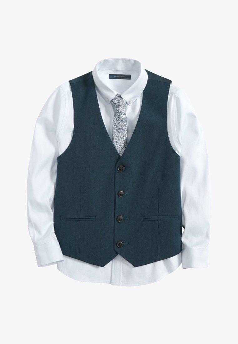 Next - SET  - Kostymväst - blue