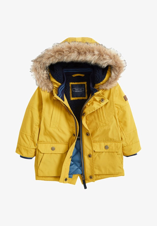 Zimní kabát - yellow