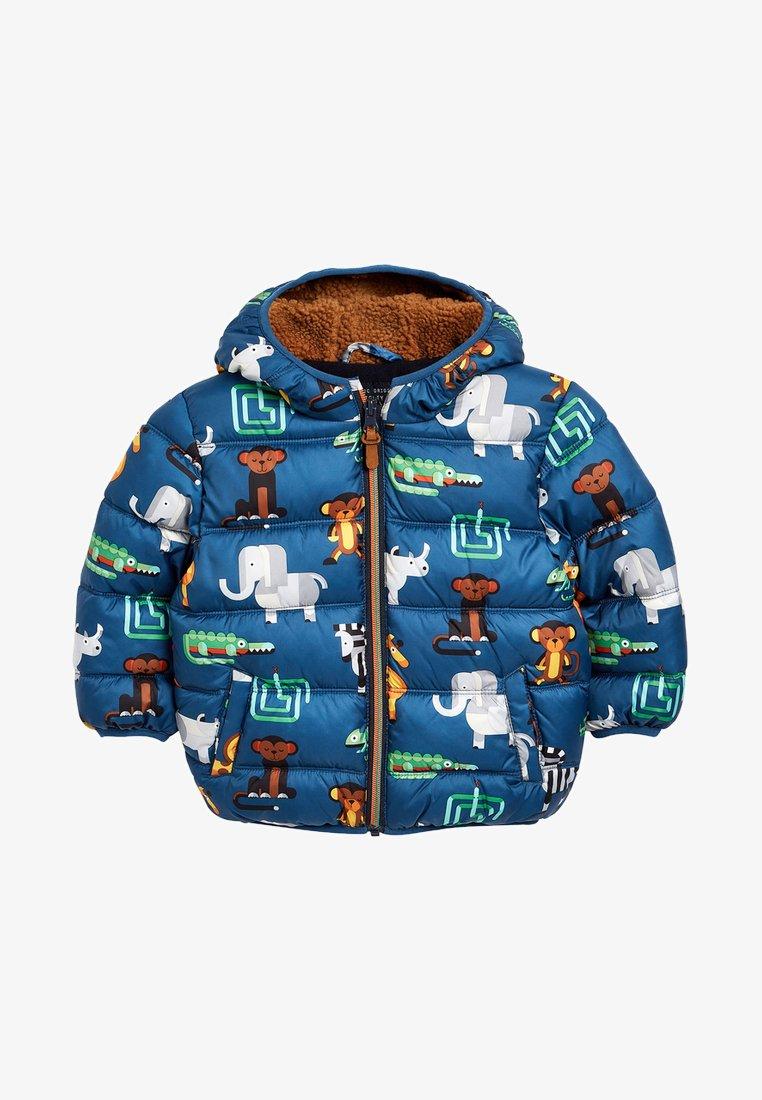 Next - Winter jacket - royal blue