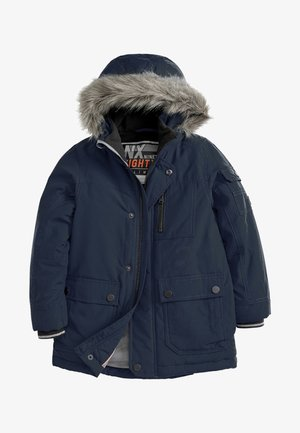 NAVY SHOWER RESISTANT PARKA (3-16YRS) - Abrigo de invierno - blue
