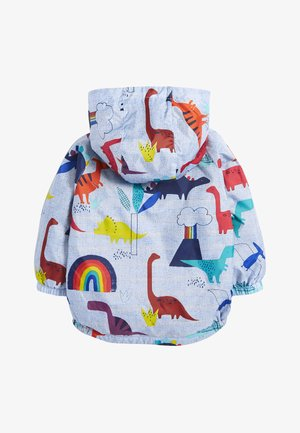 BLUE DINO CAGOULE (3MTHS-7YRS) - Summer jacket - blue