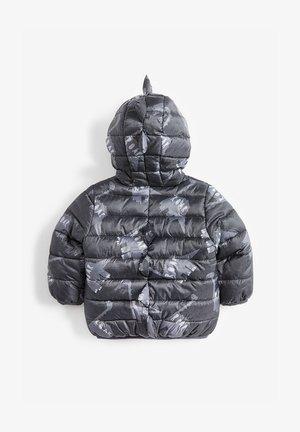 YELLOW COLOURBLOCK PADDED JACKET (3MTHS-7YRS) - Winterjas - grey