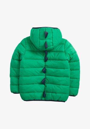 YELLOW COLOURBLOCK PADDED JACKET (3MTHS-7YRS) - Winterjas - green