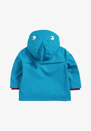 RED SHOWER RESISTANT RUBBER JACKET (3MTHS-7YRS) - Veste imperméable - blue