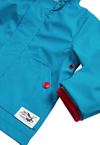 Next - RED SHOWER RESISTANT RUBBER JACKET (3MTHS-7YRS) - Waterproof jacket - blue - 3