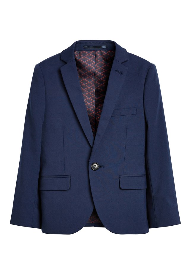 NAVY SKINNY FIT SUIT JACKET (12MTHS-16YRS) - Giacca - blue