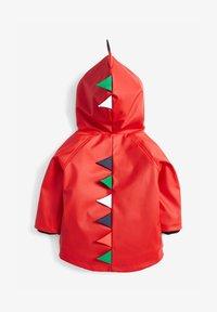 Next - RED DINOSAUR ANORAK (3MTHS-7YRS) - Waterproof jacket - red - 1