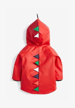 RED DINOSAUR ANORAK (3MTHS-7YRS) - Waterproof jacket - red