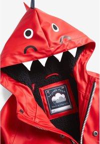 Next - RED DINOSAUR ANORAK (3MTHS-7YRS) - Waterproof jacket - red - 3