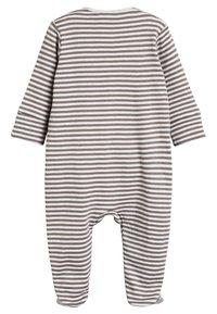 Next - (0MTHS-2YRS) - Pyjamas - grey - 1