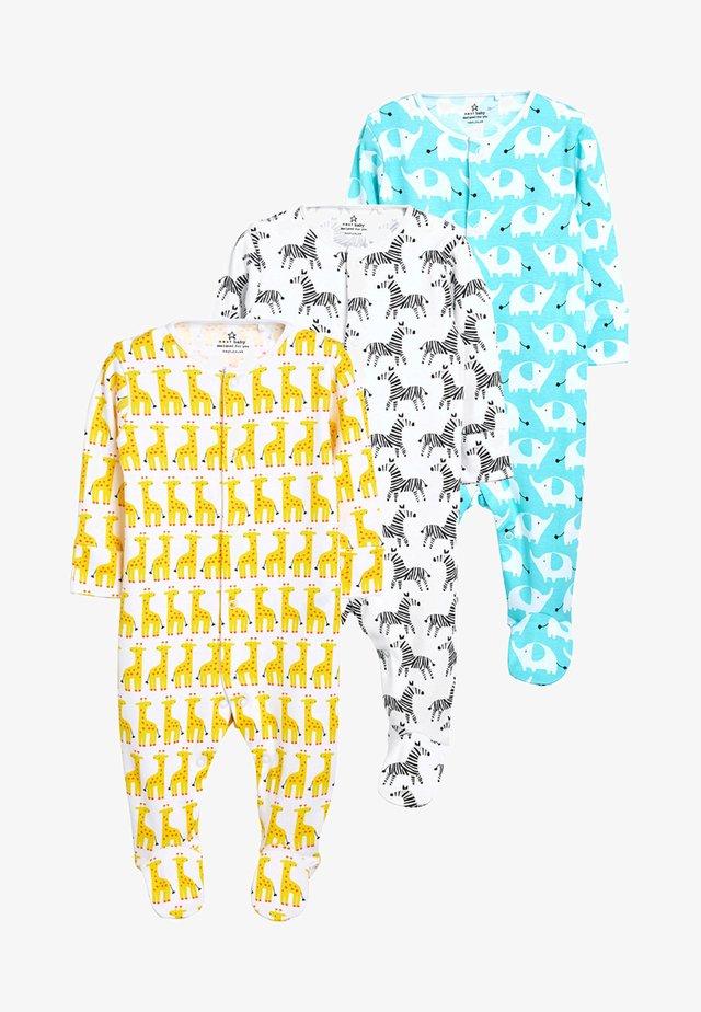 3PACK - Sleep suit - blue