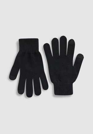 BLACK/GREY TOUCHSCREEN GLOVES TWO PACK - Guantes - black