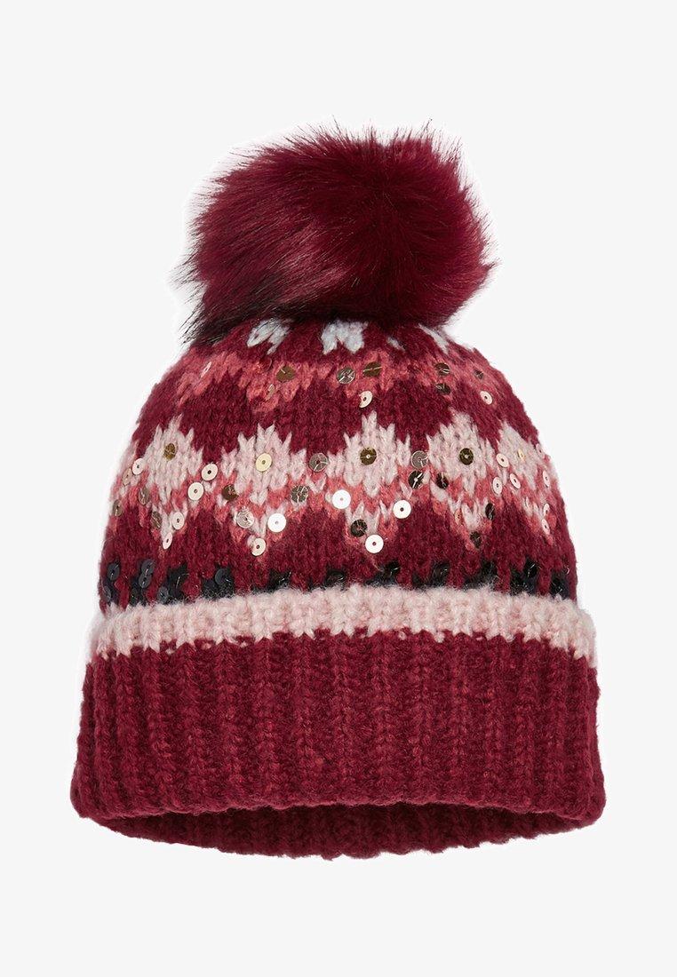 Next - Bonnet - red