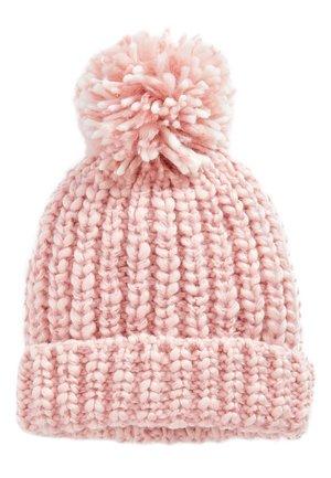 MONOCHROME KNITTED POM HAT - Mütze - pink