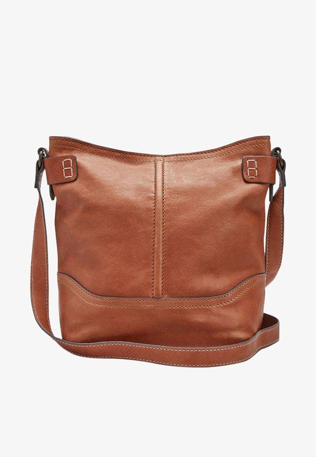 SIGNATURE - Across body bag - brown
