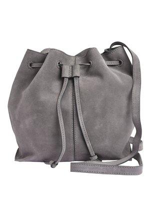 BUCKET BAG - Umhängetasche - grey