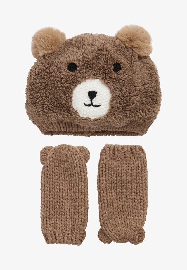 BEAR - Fingervantar - brown
