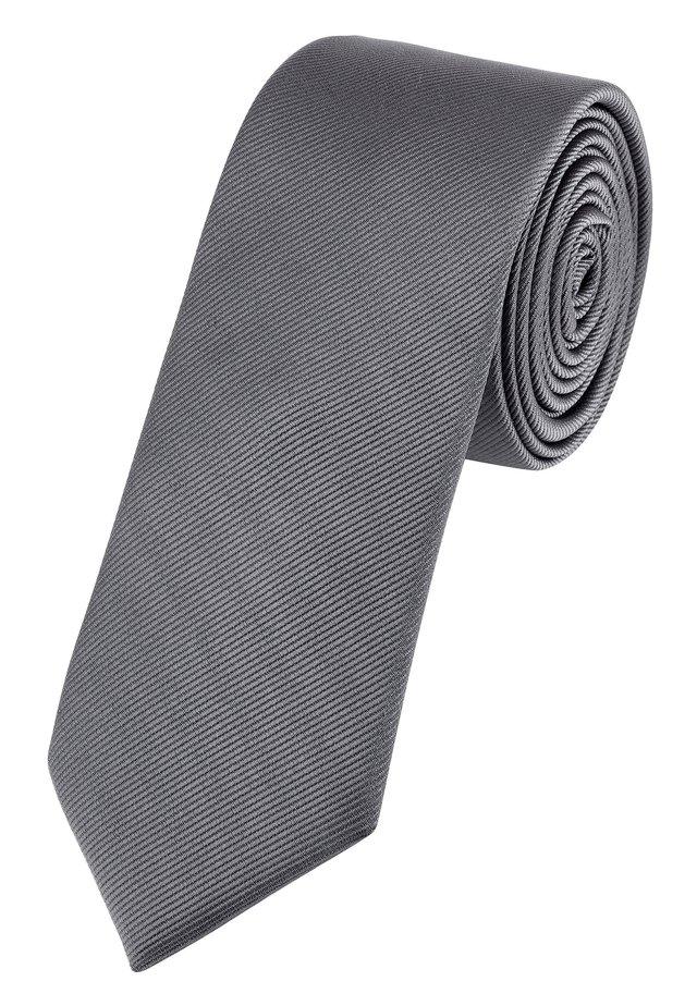 SLIM  - Tie - grey