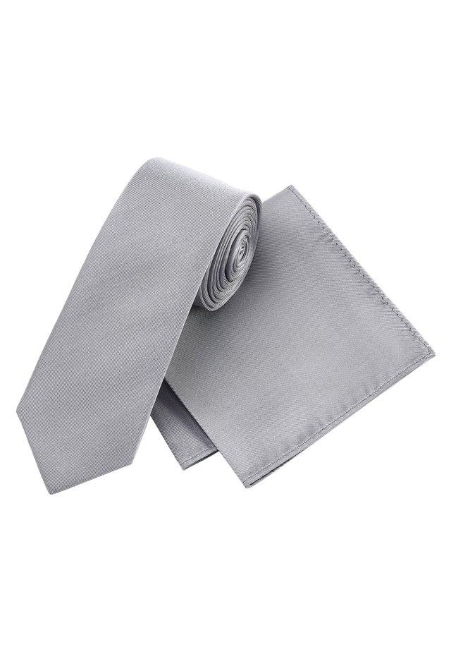 Tie - silver