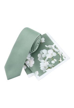 SET - Pocket square - green