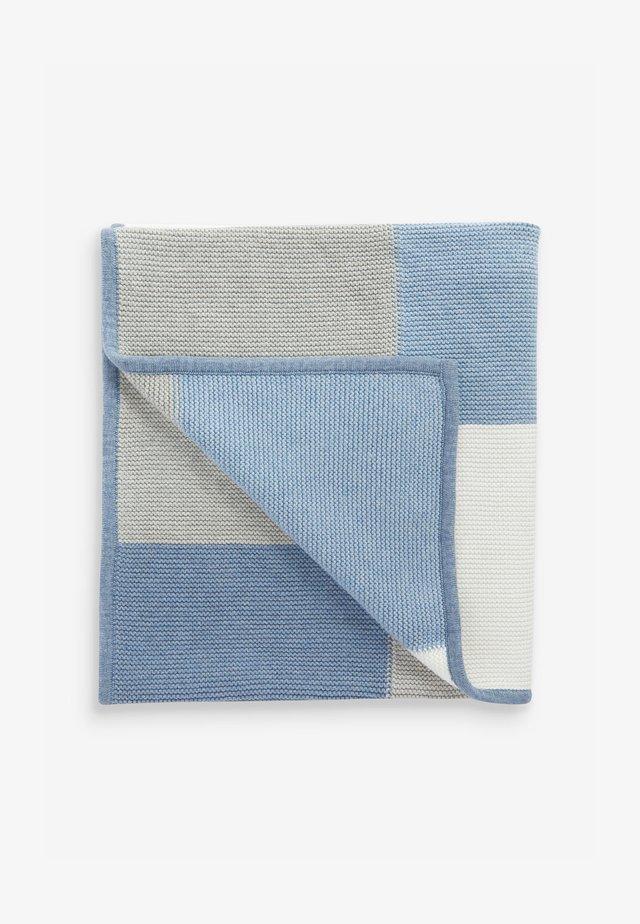 PATCHWORK - Babytæppe - blue