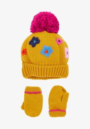 SET - Handschoenen - yellow