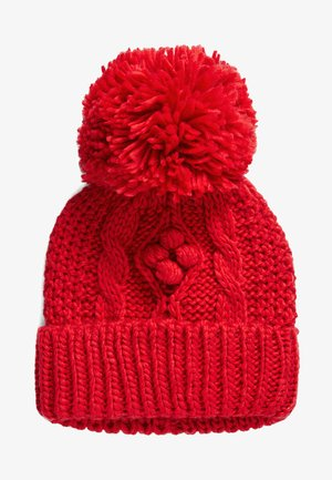 CABLE - Czapka - red