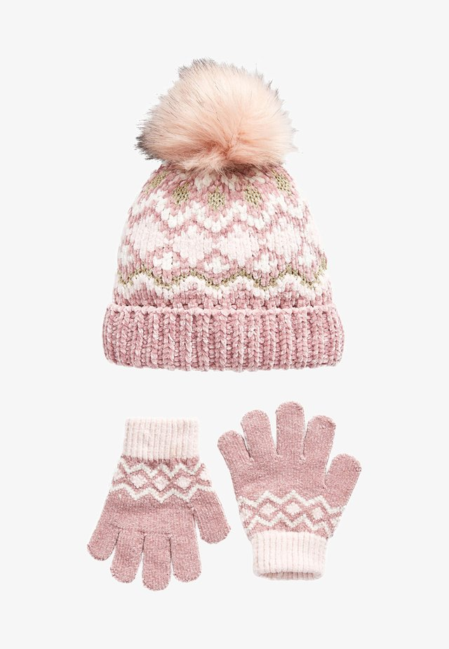 Fingervantar - pink