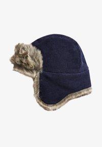 Next - TRAPPER HAT  - Berretto - blue - 0