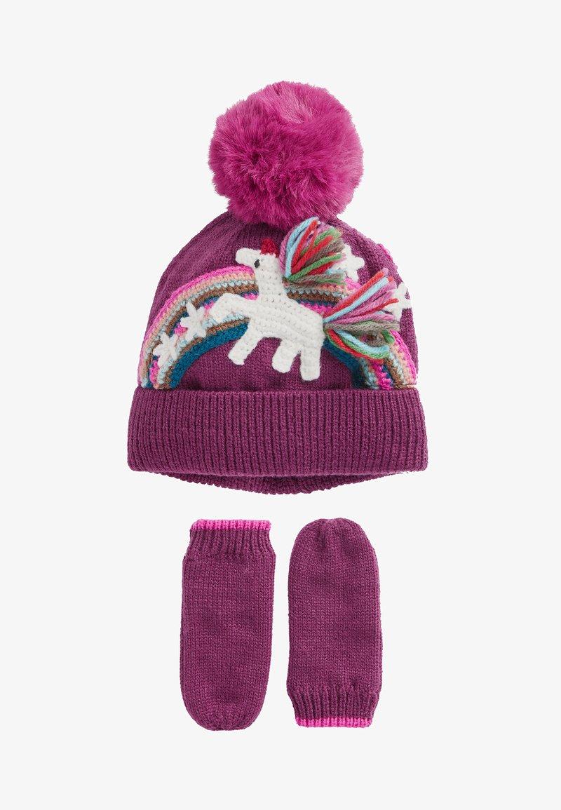 Next - SET - Handschoenen - purple