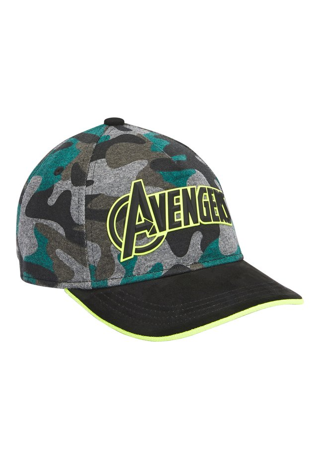 CAMOUFLAGE AVENGERS CAP (OLDER) - Casquette - grey