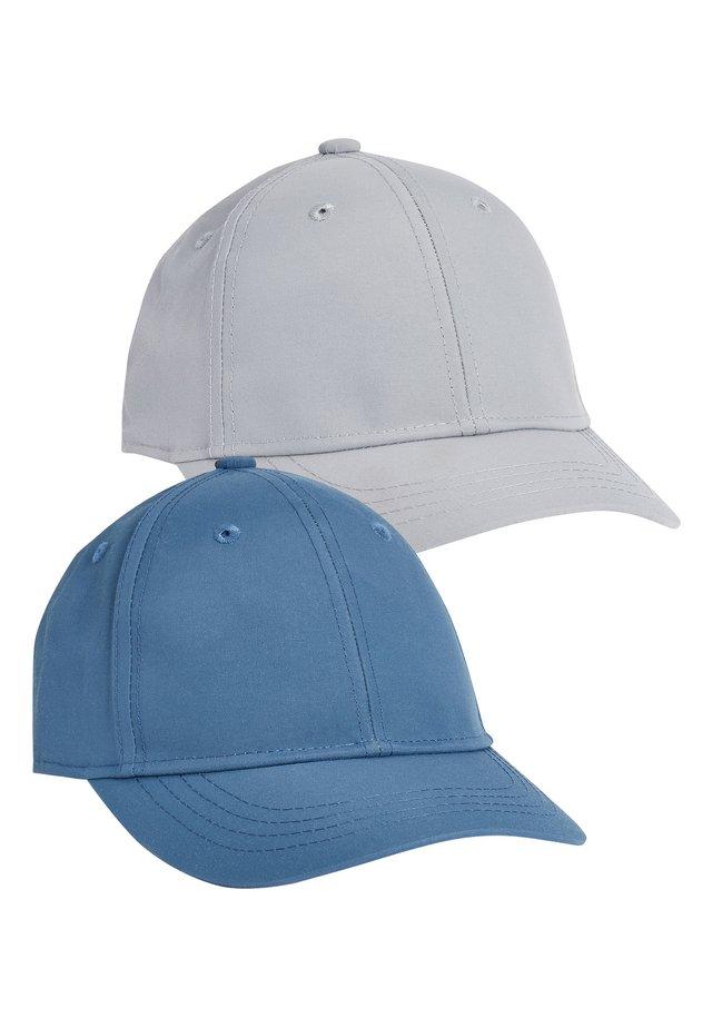 BLUE/GREY 2 PACK CAPS (OLDER) - Cap - blue