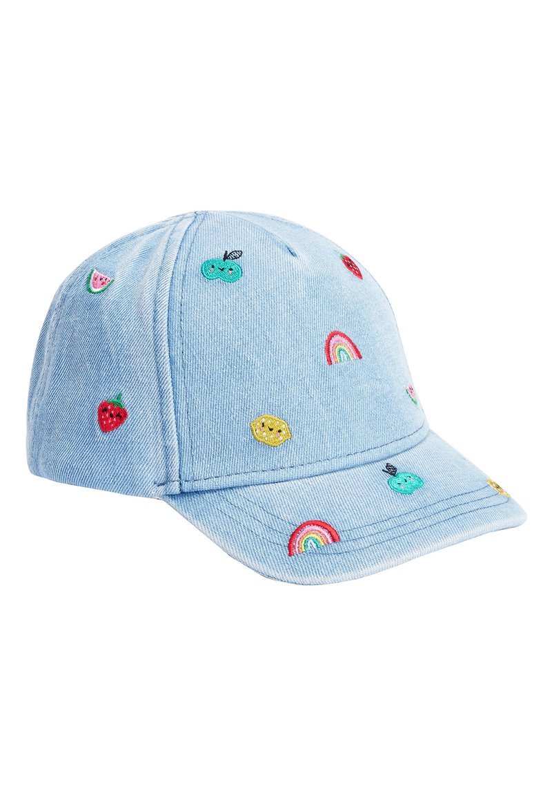 Next - DENIM EMBROIDERED CAP (YOUNGER) - Cap - blue